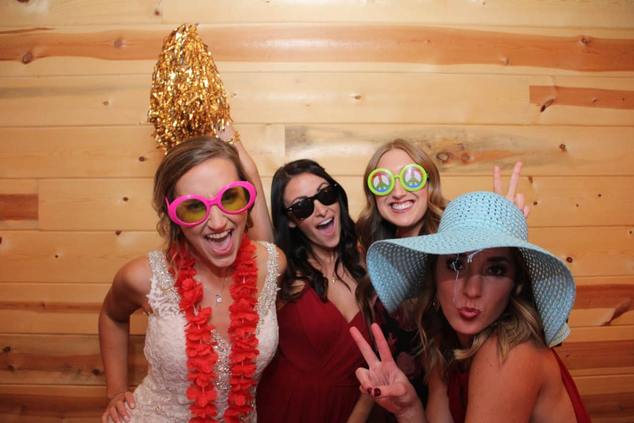 OKC Photo Booth Gore Photo Booth -The McGranahan Barn